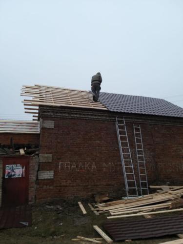 Новая крыша для старого дома